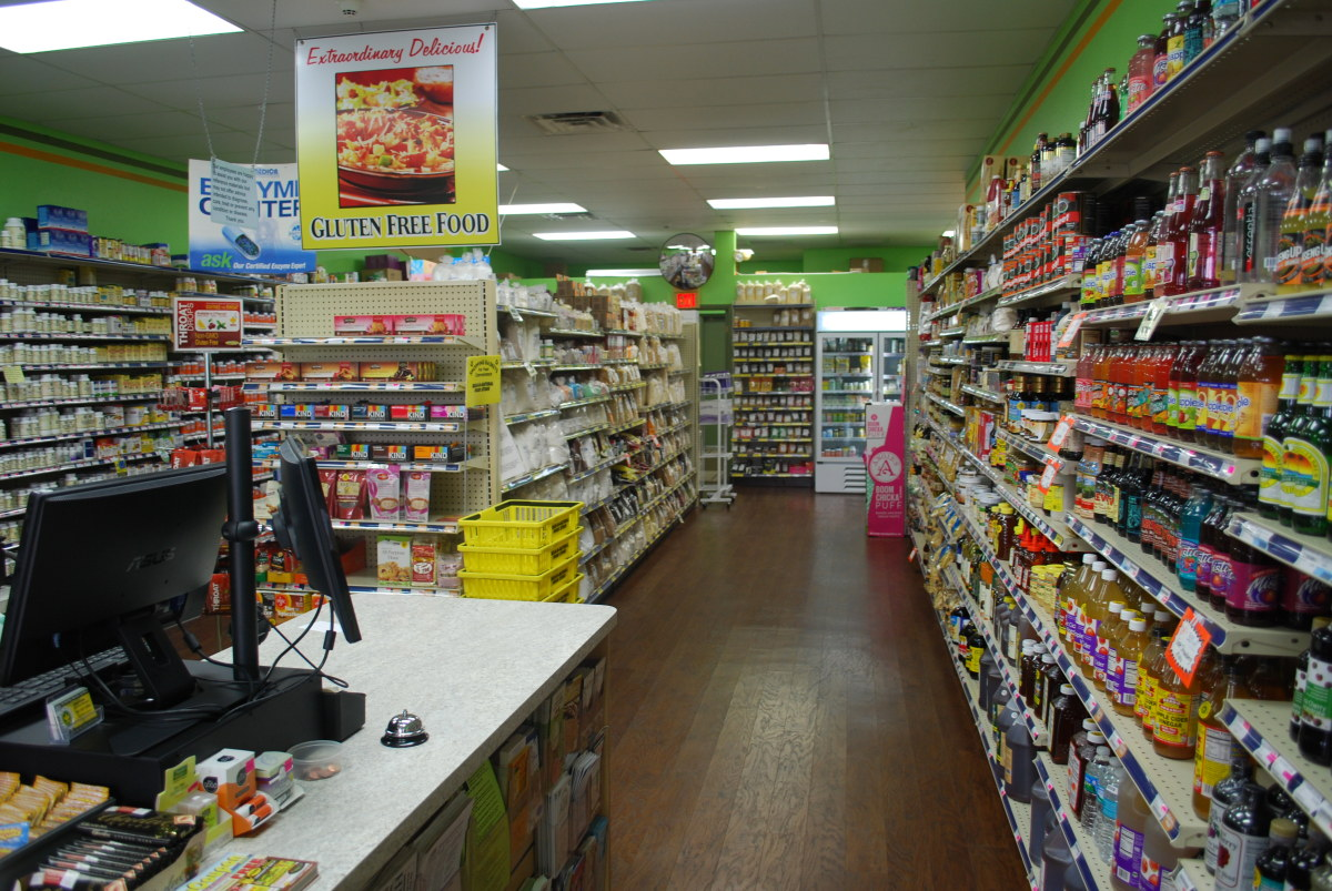 Small Independent Health Food Stores