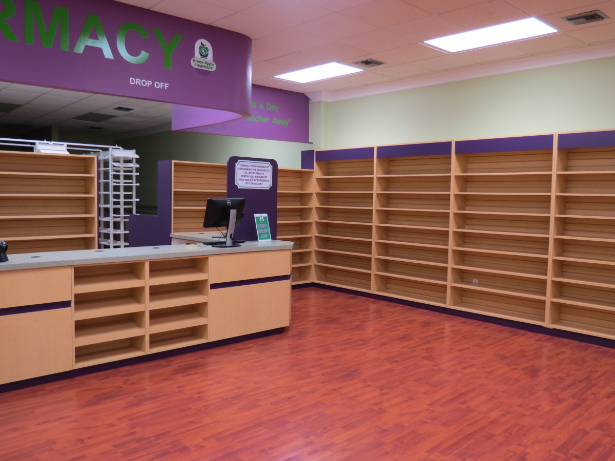 Store Planning: Retail, Pharmacy Design & Fixtures